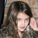 Suri Cruise Steps Out In Pajamas With Mom Katie Holmes