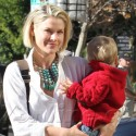 Ali Larter Takes Son Theodore To A Doctor's Appointment