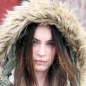 Megan Fox Bundles Up After Getting A Facial