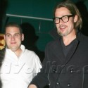Brad Pitt And Jonah Hill Dine At Dan Tana's
