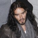 Russell Brand Enjoys Night Out In Hollywood