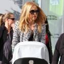 Rachel Zoe Goes To Lunch With Son Skyler