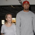 Kendra Wilkinson And Hank Baskett Run Errands Together