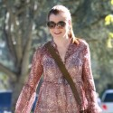 Alyson Hannigan Shows Off Her Growing Baby Bump
