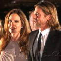 Brad Pitt And Angelina Jolie In Palm Springs