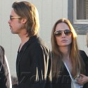 Brad And Angelina Take The Kids To Cirque du Soleil