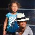 Halle Berry And Olivier Martinez Take Nahla To Malibu Beach
