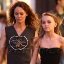 Vanessa Paradis And Daughter Lily-Rose Spend Quality Time Together