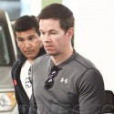 Mark Wahlberg Takes His Son To Target