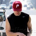 Ryan Phillippe Shows Off His Muscles After A Workout