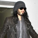 Russell Brand Arrives At LAX From London