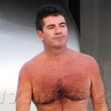 Simon Cowell Relaxes In St. Barth