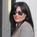 Shannen Doherty Smiles For The Cameras