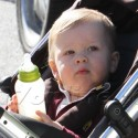 Ali Larter Plays In The Park With Son Theodore