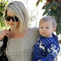 Ali Larter And Baby Teddy Are Off To A Playdate