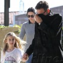 David Arquette And Courteney Cox Spend New Year's Day With Coco