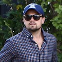 Leonardo DiCaprio And Dad George Lunch In West Hollywood