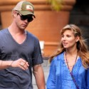 Chris Hemsworth's Wife Shows Off Baby Belly In St. Barth