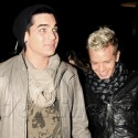 Adam Lambert Has A Movie Date With His Boyfriend And A Lady Friend