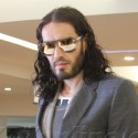 Russell Brand Has A Business Lunch In WeHo