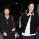 Maria Shriver Dines At Katsuya With Her Kids