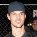 Taylor Lautner Checks Out Cirque Du Soleil