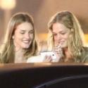 Rosie Huntington-Whiteley Parties With Model Pal Erin Heatherton