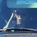 Angelina Jolie Is Stuck In Traffic