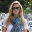 Bar Refaeli Goes Shopping In Beverly Hills