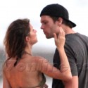 EXCLUSIVE - Giesle And Tom Brady Hit The Beach