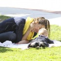 Jessica Alba Goes Gaga For Haven At The Park