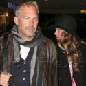 Kevin Costner En Route To Whitney Houston's Funeral
