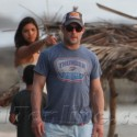 Tom Brady And Gisele Vacation With Patriots Player Wes Welker