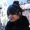 Vanessa Hudgens Ditches Her Boho Look For Fur
