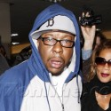 Bobby Brown Returns To LA From Memphis