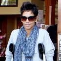 Halle Berry Gets Coffee With Olivier Martinez