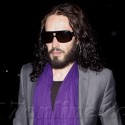 Russell Brand Adds A Splash Of Color To His Wardrobe