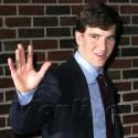 Super Bowl XLVI MVP Eli Manning Visits The Late Show