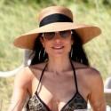 Bethenny Frankel Hits The Beach In A Bikini