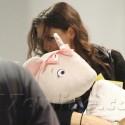 Katie Carries Suri's Big Doll