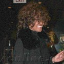Whitney Houston Is All Smiles As She Dines With Her Family