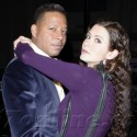 Terrence Howard Shares A Smooch With Mystery Woman At Beso