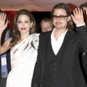 Angelina Jolie And Brad Pitt Attend Paris Premiere
