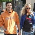 Mark Ballas And His Girlfriend Go Shopping