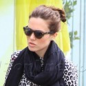 Mandy Moore Goes Shopping In Beverly Hills
