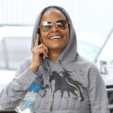 Nia Long Covers Up Her Camel Toe After The Gym