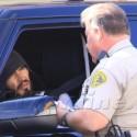 Russell Brand Gets A Speeding Ticket