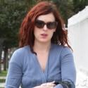Rumer Willis Looks Bummed As She Runs Errands In LA