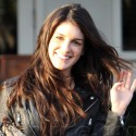 Shenae Grimes Lunches With Frankie Delgado At Fred Segal