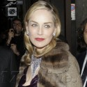 Sharon Stone Goes Glam In Milan